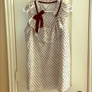 Motherhood polka top sleeveless top